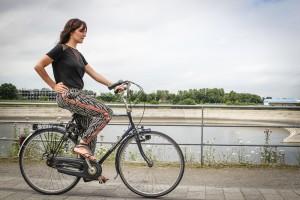 YogaCycling Fahrrad Yoga Kleiner Krieger